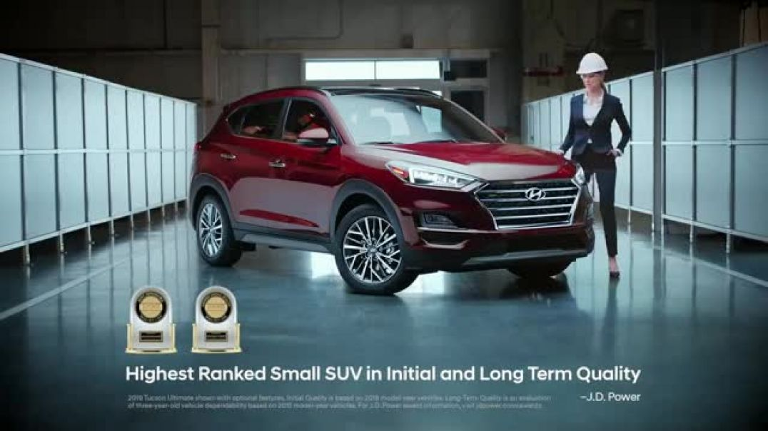 2018 Hyundai Tucson Built Right In TV Commercial Built Right In
