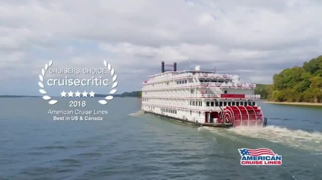 American Cruise Lines The Mississippi River TV Cmmercial