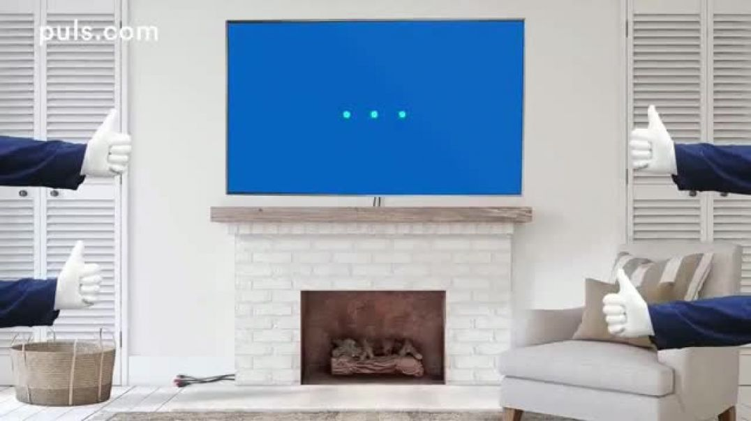 Puls TV Commercial Professional Same-Day TV Mounting Service