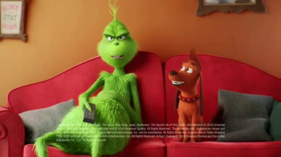 XFINITY X1 TV Commercial The Grinch- Movies Max Would Like