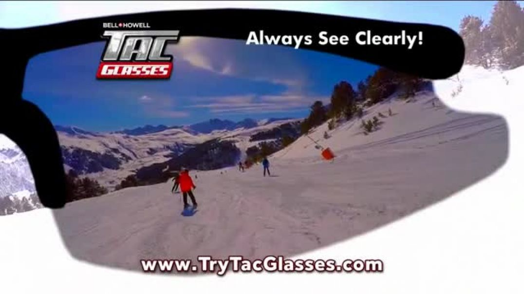 Bell + Howell Tac Glasses TV Commercial No Ordinary Glasses- Night Vision