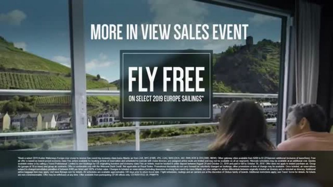 Avalon Waterways More In View Sales Event Your Own Way TV Cmmercial