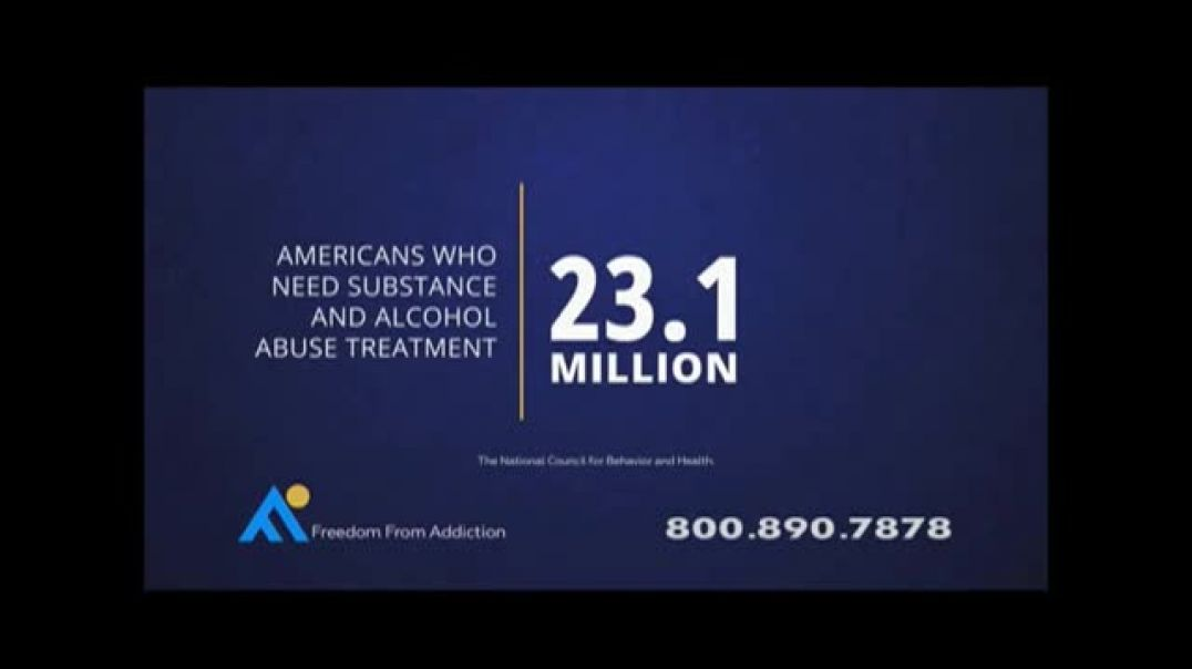 Freedom From Addiction TV Commercial Youre not Alone