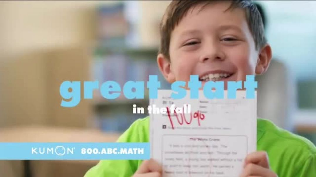 Kumon Math &  Reading Program TV Commercial Summer Learning Loss- Save $50