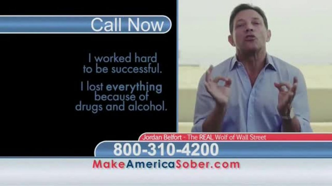 Make America Sober Again TV Commercial Wolf of Wall Street Ft. Jordan Belfort
