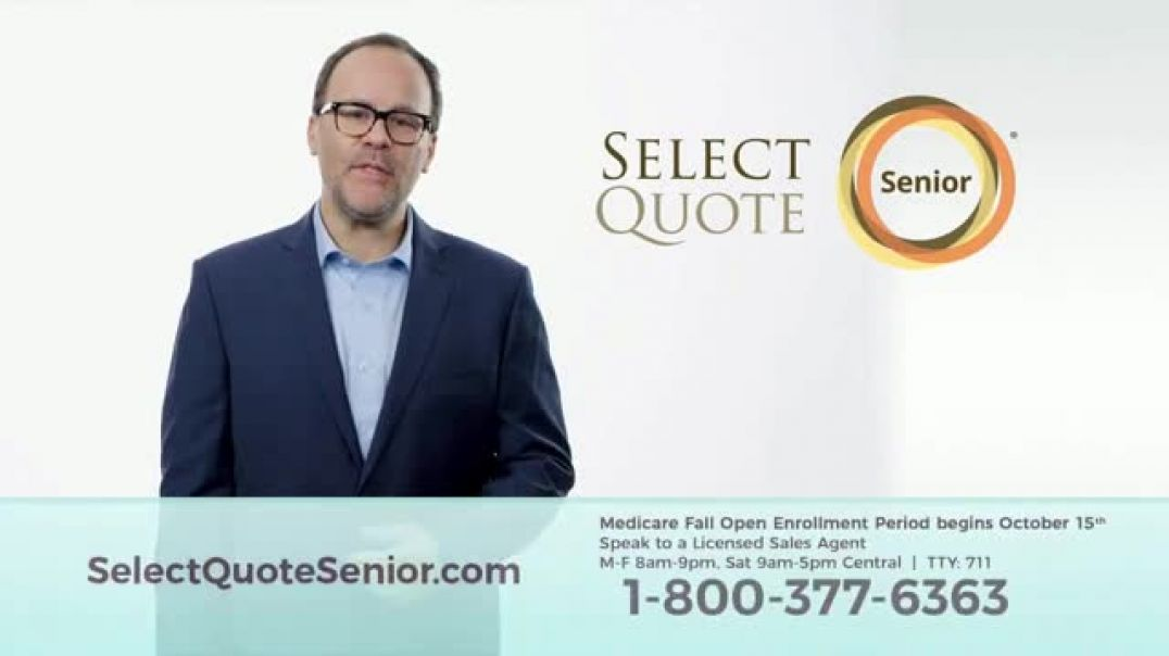 Select Quote Senior Cutting Through the Clutter TV Commercial