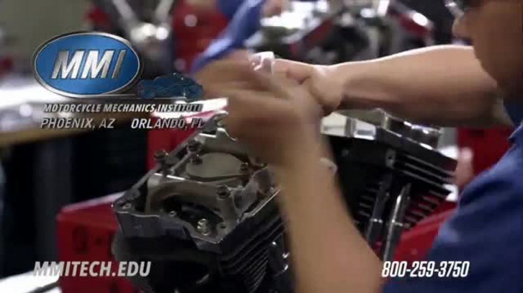 Motorcycle Mechanics Institute TV Commercial Passion and Power