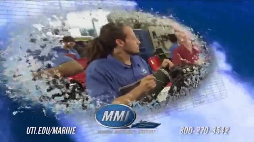 Marine Mechanics Institute TV Commercial Marine Technician Program