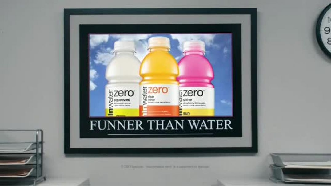 Vitaminwater Zero TV Commercial Funner Than Water