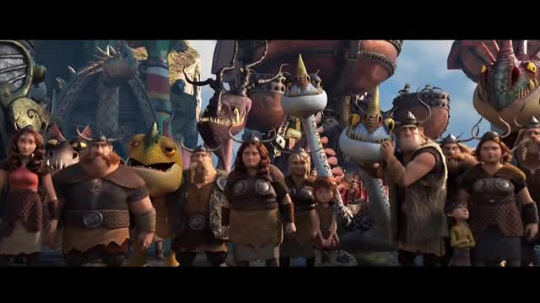 How to Train Your Dragon- The Hidden World TV Movie Trailer TV Commercial - TVCAD