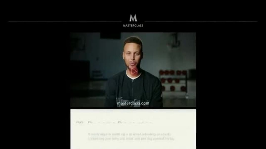 Masterclass TV Commercial Stephen Curry Teaches Shooting Feat. Stephen Curry