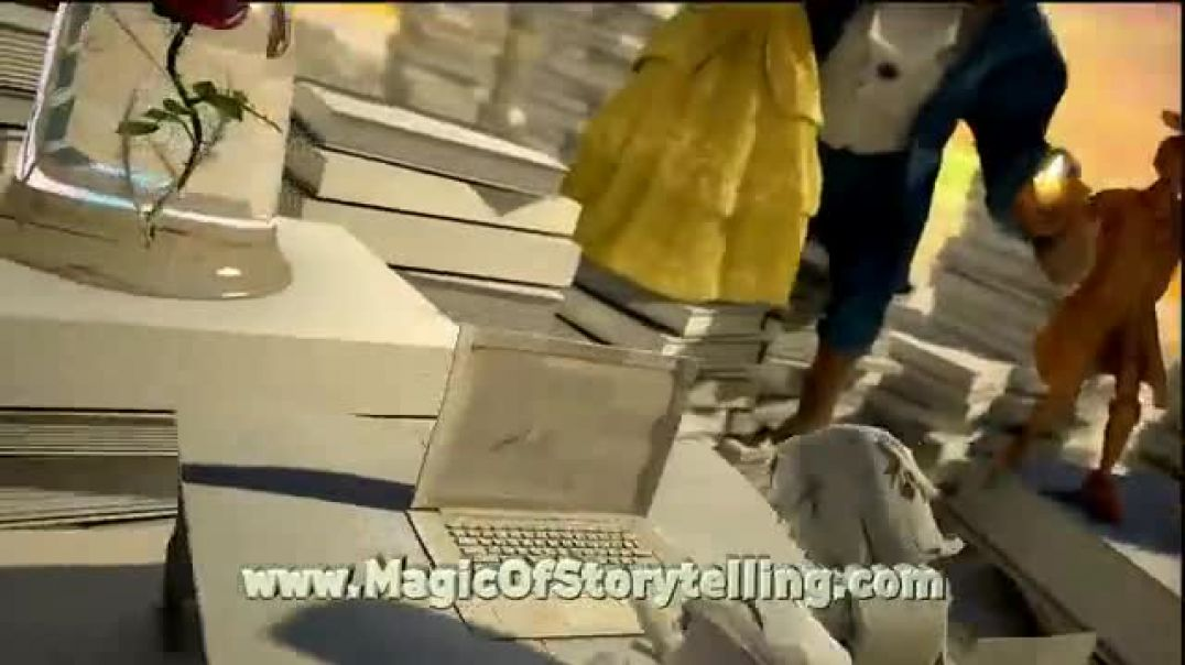 First Book  ABC- Beauty and the Beast TV Commercial