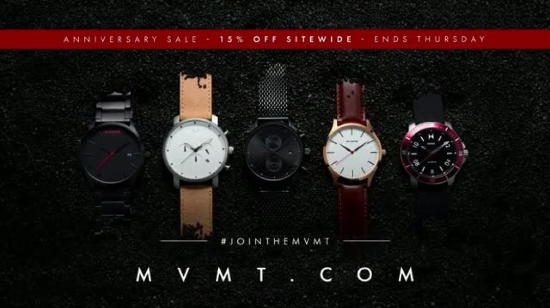 MVMT Anniversary Sale TV Commercial Join the Movement