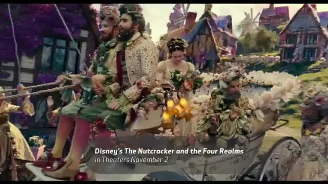 The Nutcracker and the Four Realms Food Network Promo TV Commercial