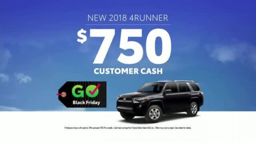 Toyota Govember TV Commercial Black Friday Deals- Tacoma & 4Runner  TV Commercial - TVCAD