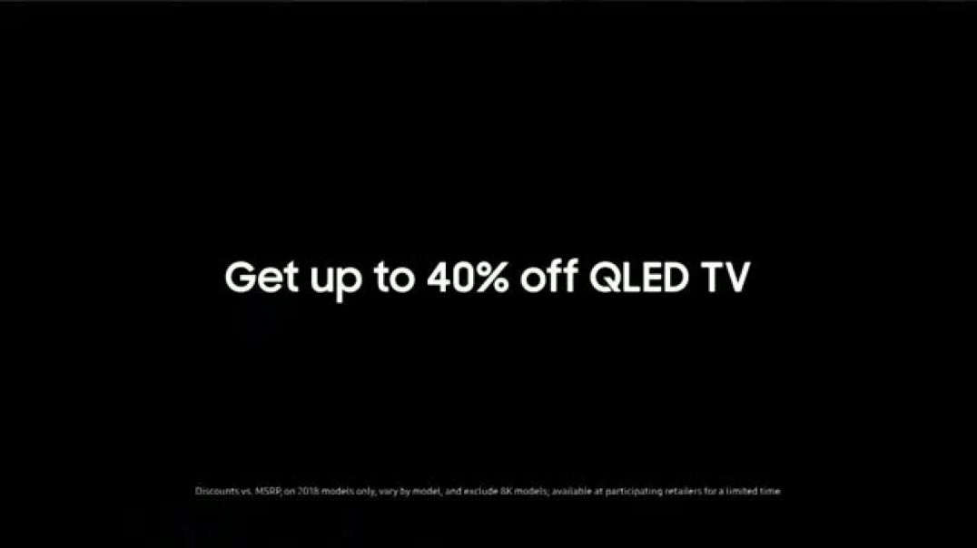 Samsung QLED TV TV Commercial Rivalry Week- 40 Percent Off TV Commercial - TVCAD