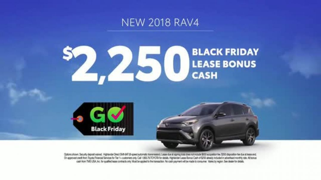 Toyota Govember Black Friday Sales Event TV Commercial Sweet Wheels- RAV4  TV Commercial - TVCAD