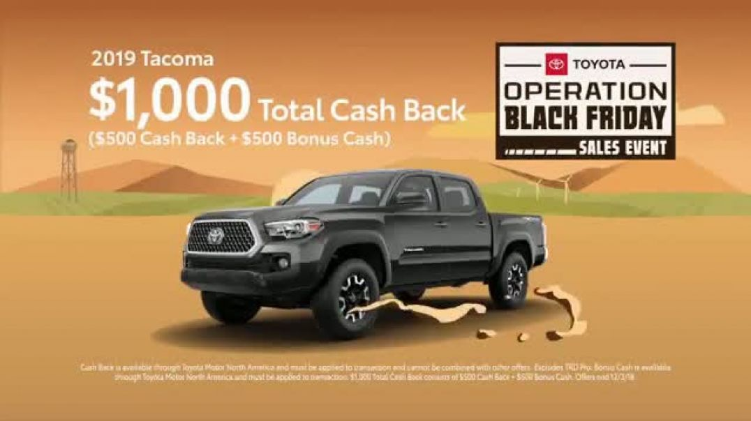 Toyota Operation Black Friday Sales Event TV Commercial Tacoma & 4Runner  TV Commercial - TVCAD
