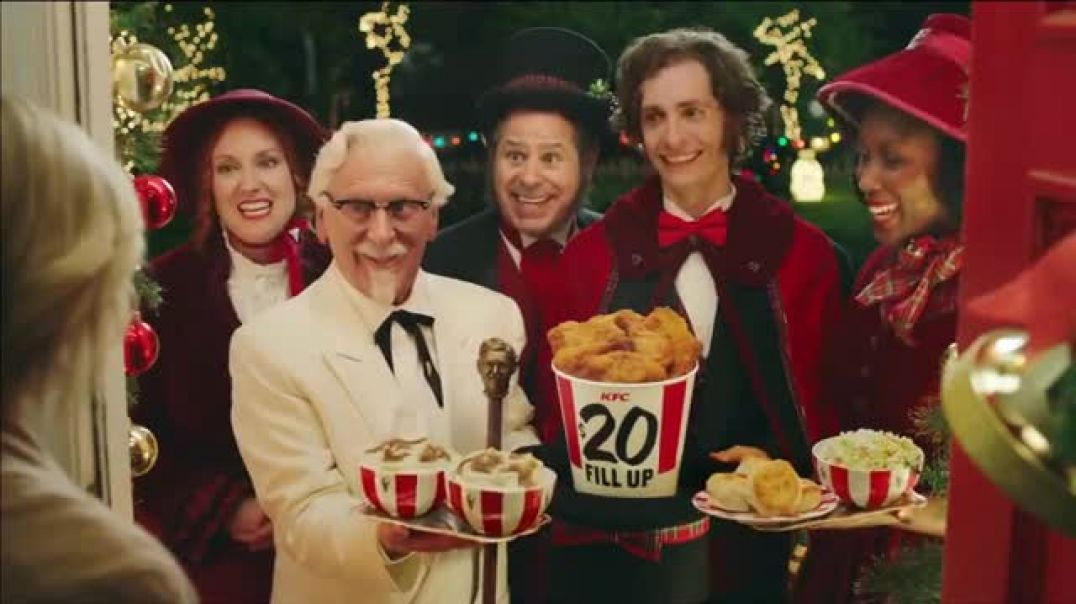 Watch KFC $20 Fill Up TV Commercial 2018 Holidays- Carolers -  by Resturent