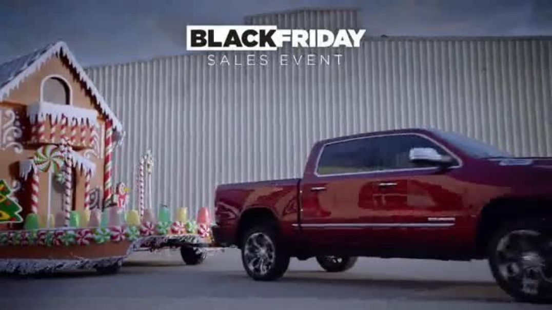 Ram Trucks Black Friday Sales Event TV Commercial Gingerbuilders Song by Gwen Stefani Blake Shelto