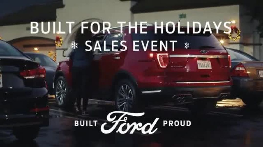 Ford Built for the Holidays Sales Event TV Commercial Both Sides  TV Commercial - TVCAD