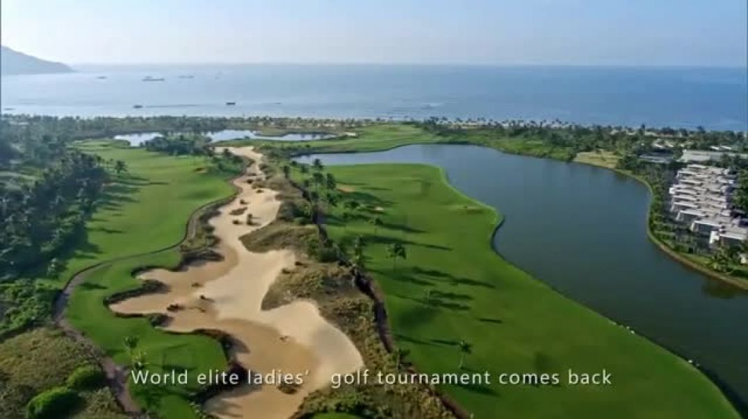 Hainan Greentown Blue Bay Resort TV Commercial 2018 Blue Bay LPGA TV Commercial - TVCAD