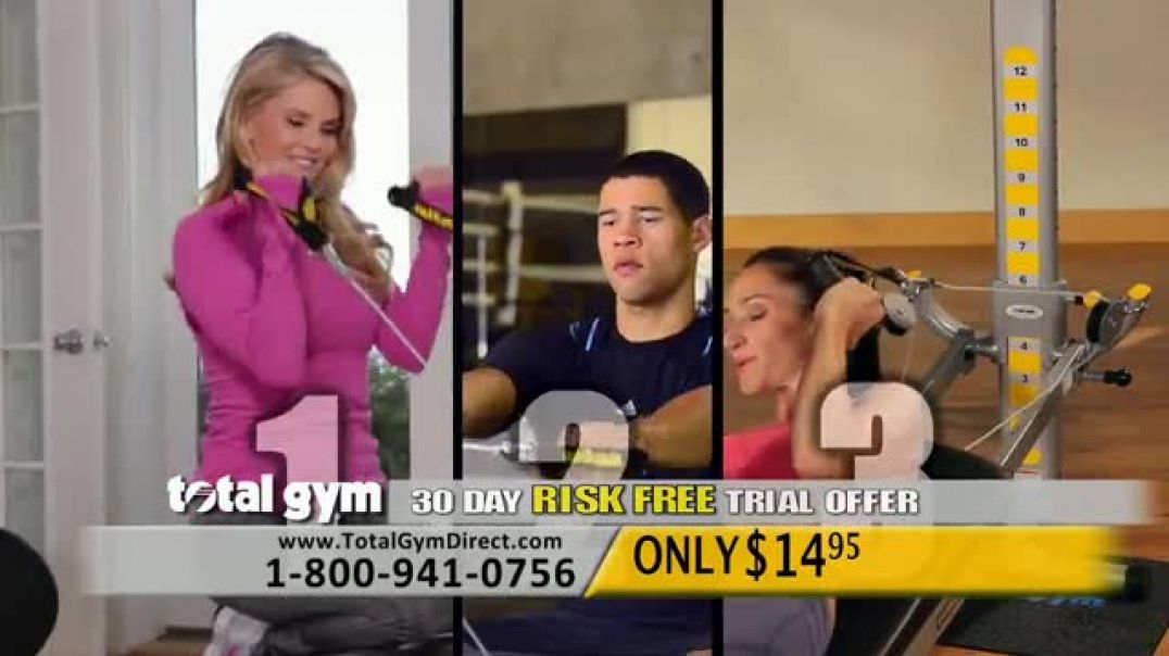 Total Gym TV Commercial Everybody Workout Song Featuring Chuck Norris Commercial - TVCAD