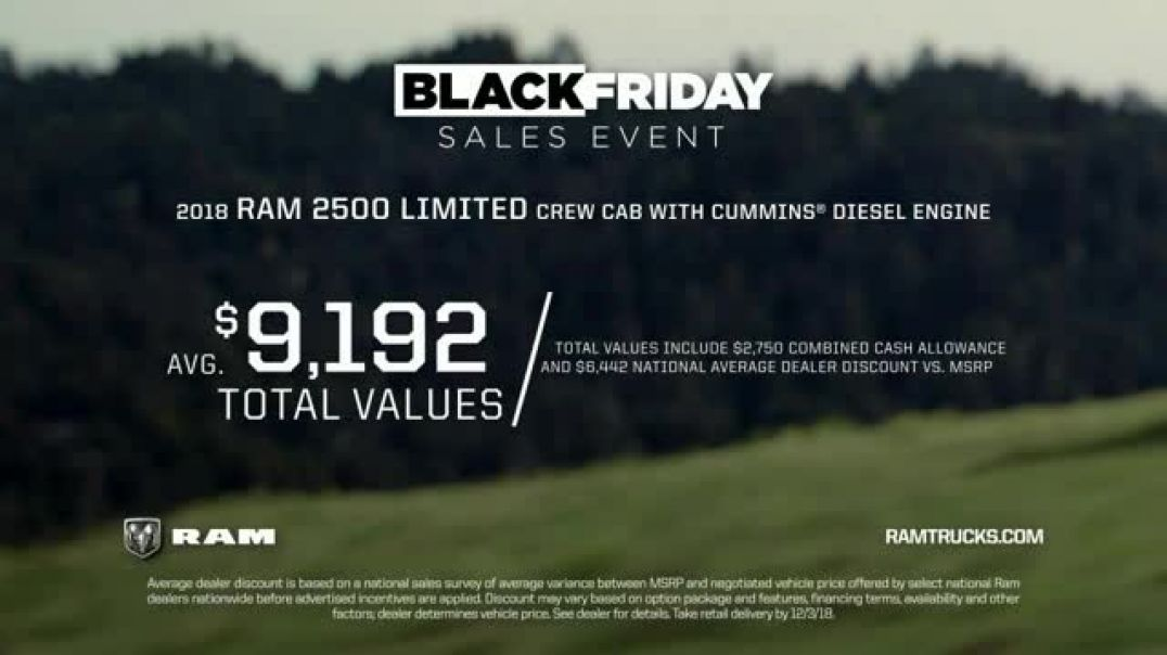 Ram Trucks Black Friday Sales Event TV Commercial Expectations  TV Commercial - TVCAD