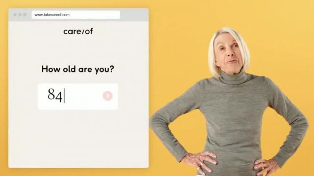 Care_of TV Commercial Take the Quiz Take Your Vitamins Commercial - TVCAD