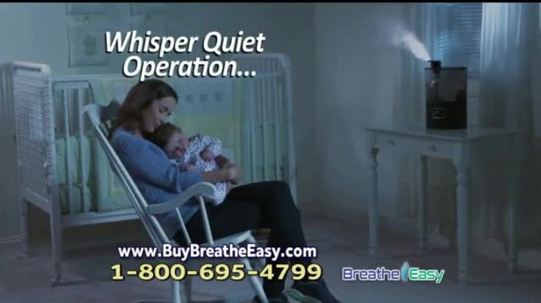 Breathe Easy Humidifier TV Commercial Breathe Easier Every Day Commercial - TVCAD