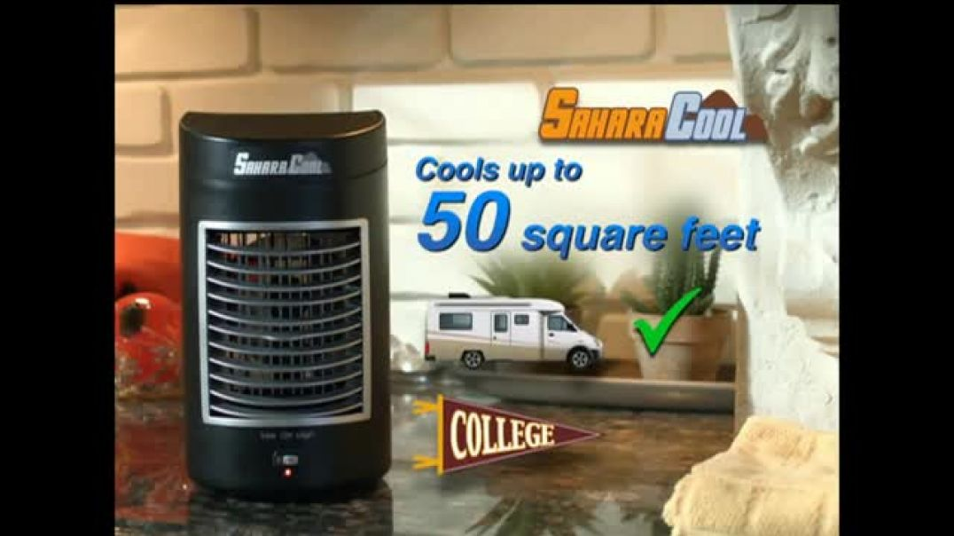 Sahara Cool TV Commercial Cool Fusion Technology Commercial - TVCAD