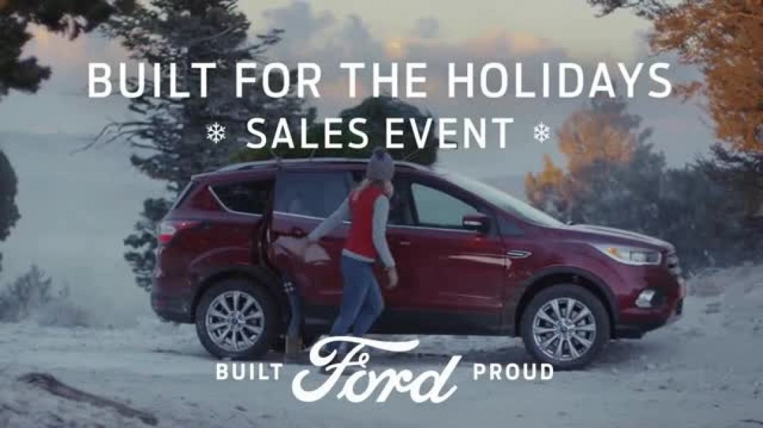 Ford Built for the Holidays Sales Event TV Commercial Tree Cutting Commercial -TVCommercialAd.com
