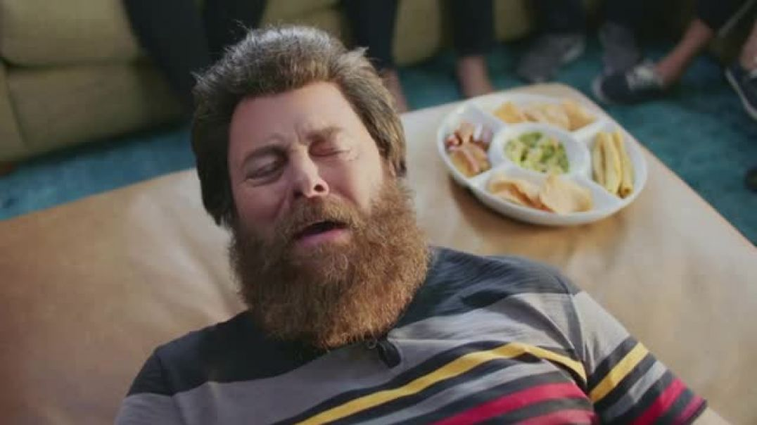Sling TV Commercial Stretch- Roku Express Featuring Nick Offerman Megan Mullally Commercial - Bka