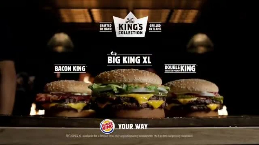 watch burger king big king xl tv commercial ad the perfect