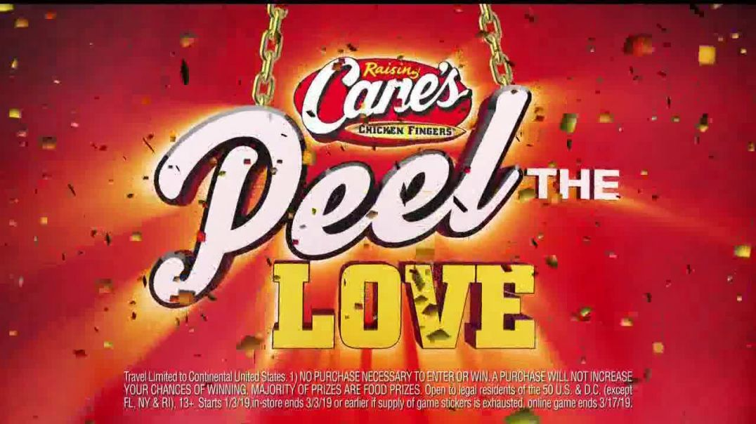 Raising Canes Peel the Love TV Commercials Not a Game Commercial -TVCommercialAd.com