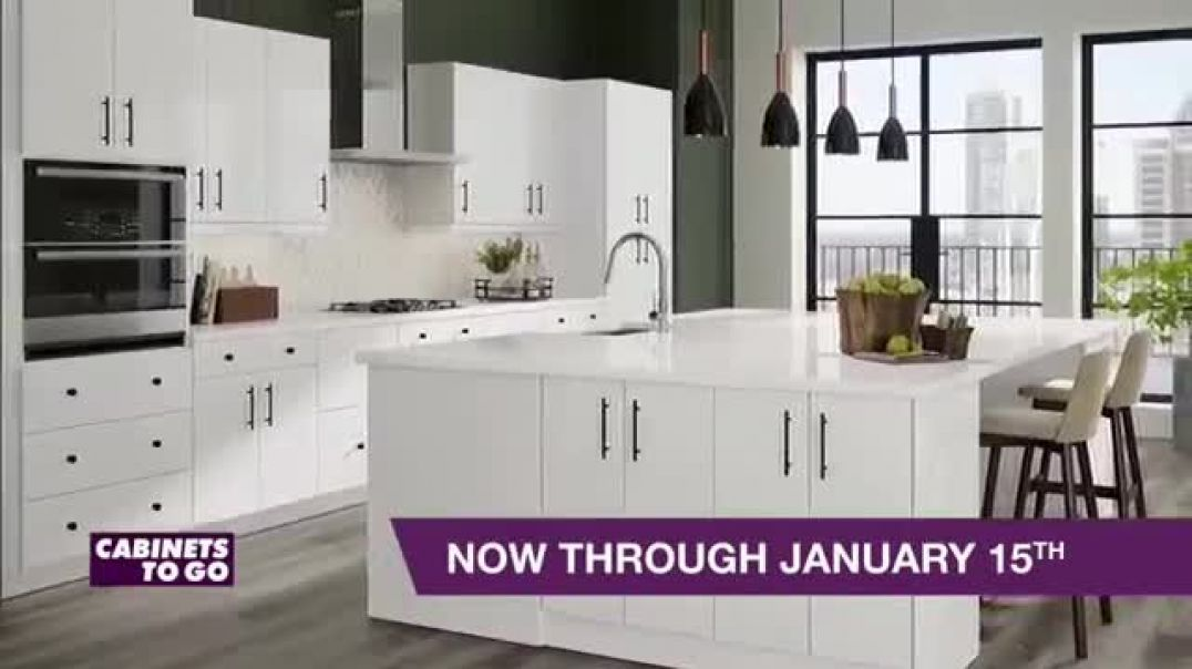 Cabinets To Go New TV Advert 20 Percent Off Cabinets and Floors Commercial