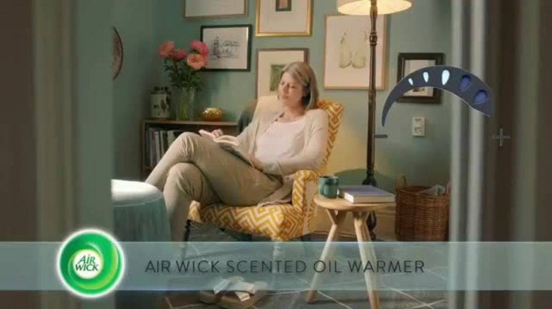 Air Wick Scented Oil Warmer New TV Advert Perfect Amount Commercial