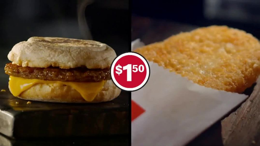 McDonalds $1.50 Sausage Biscuit or McMuffin Combo TV Commercials Morning Run Song by Mr. Wiggles Co
