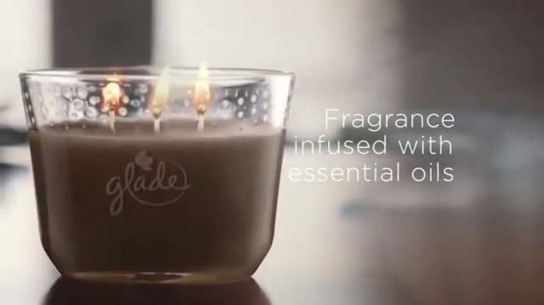 Glade Three Wick Candles New TV Advert Love Commercial