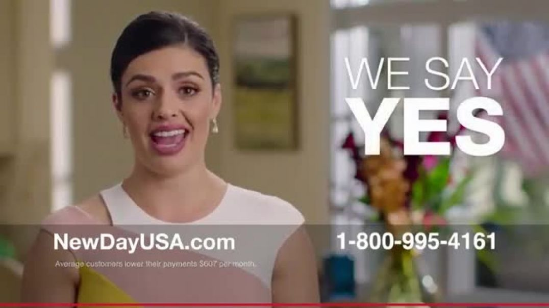 NewDay USA VA Cash Out Home Loan New TV Advert Big News Commercial
