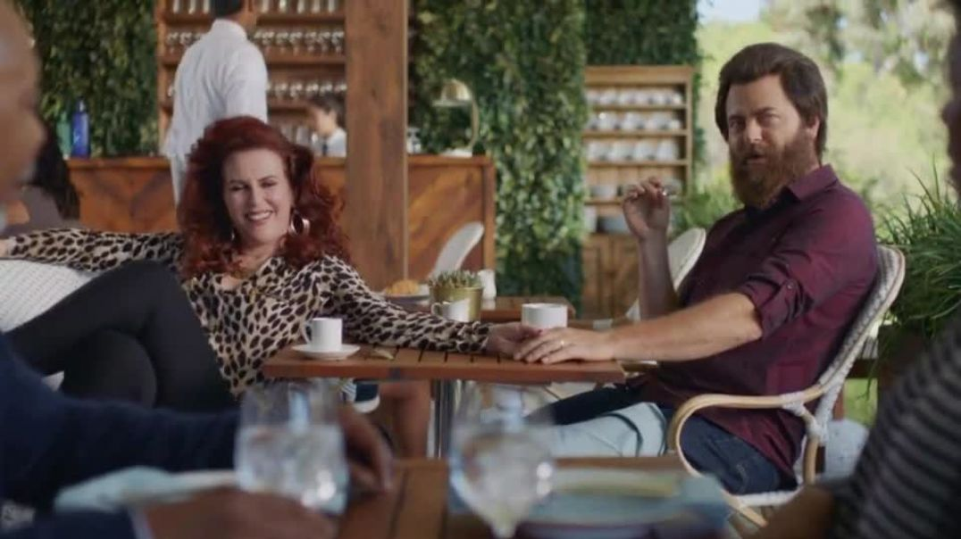Sling TV Commercial Ad Freedom- 80000+ Videos On Demand  Ft. Nick Offerman Megan Mullally Commerc