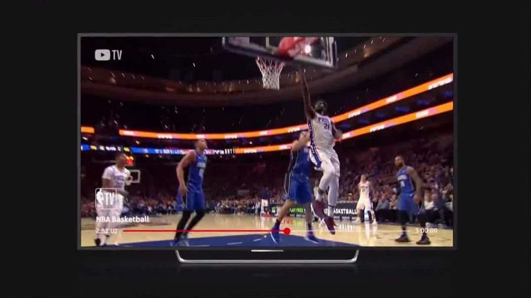 YouTube TV TV Commercial Ad NBA Basketball- Watch Like a Fan Commercial -TVCommercialAd.com