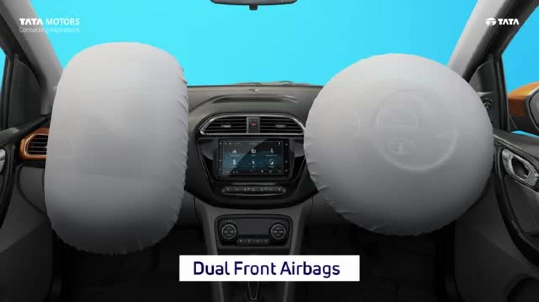 New TV Commercial Ad All New Tiago - Dual Front Airbags   FeelsLikeFun
