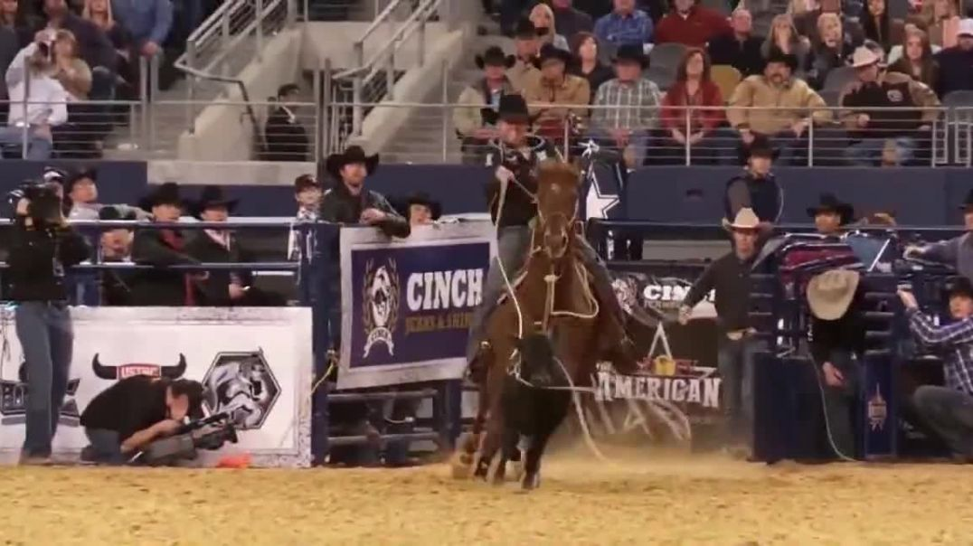 The American Rodeo TV TV Commercial 2019 AT&T Stadium- The Best Rodeo Featuring Justin McBride