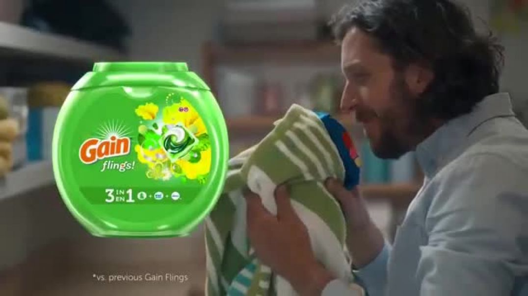 Gain Flings! New TV Advert The Russells Commercial
