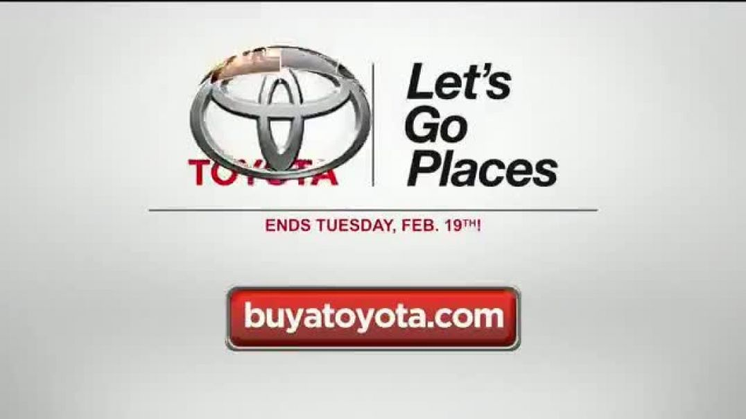 Toyota Presidents Day Event TV Commercials Biggest Event Anywhere You Are Commercial