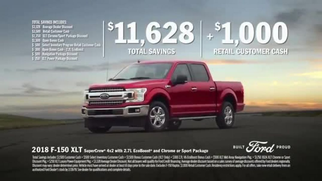 Ford Truck Month TV Commercials Okay People Commercial 2019 Song by The Score