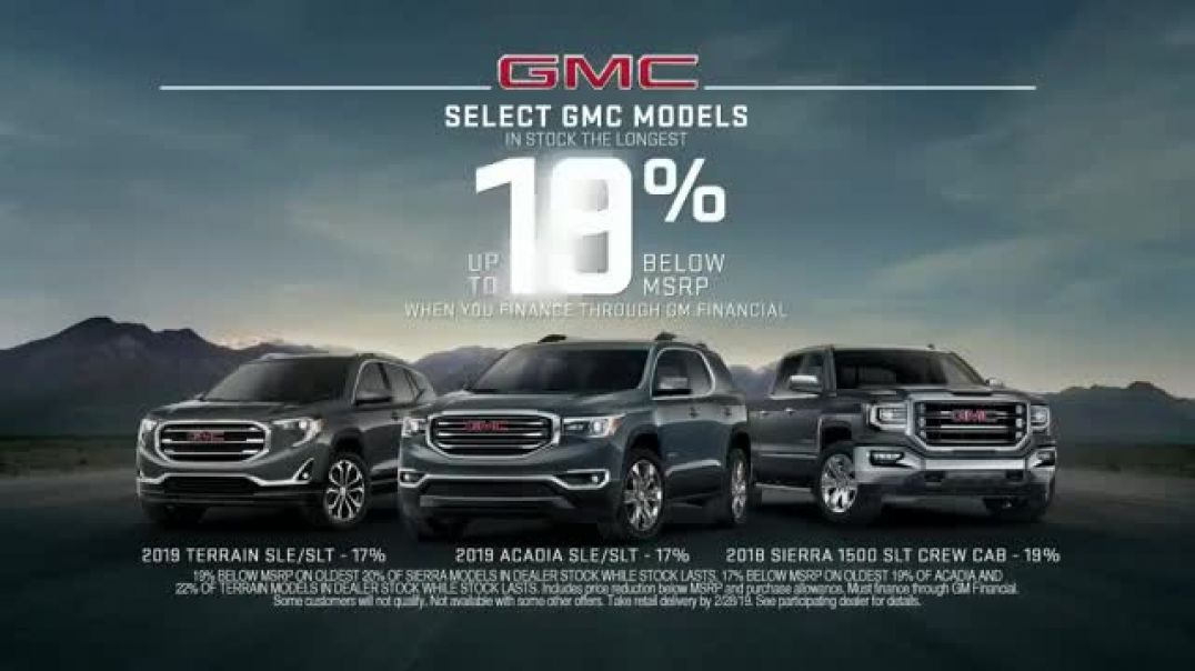 GMC TV Commercials Rule of Three Commercial