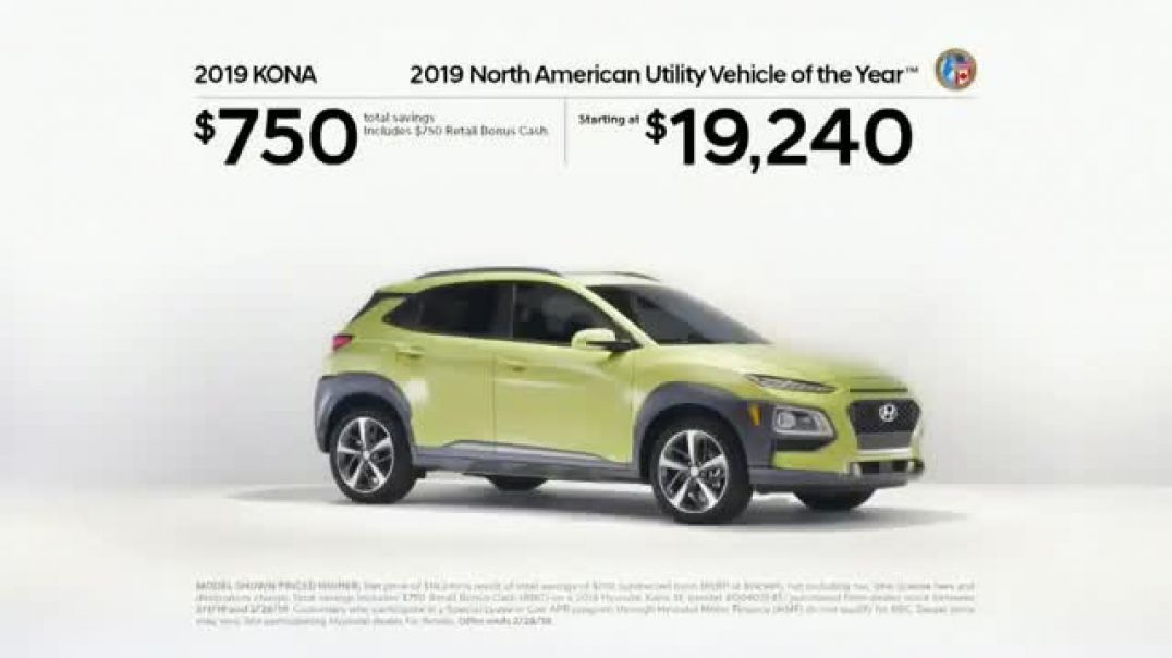 2019 Hyundai Kona TV Commercials Paid Attention Commercial