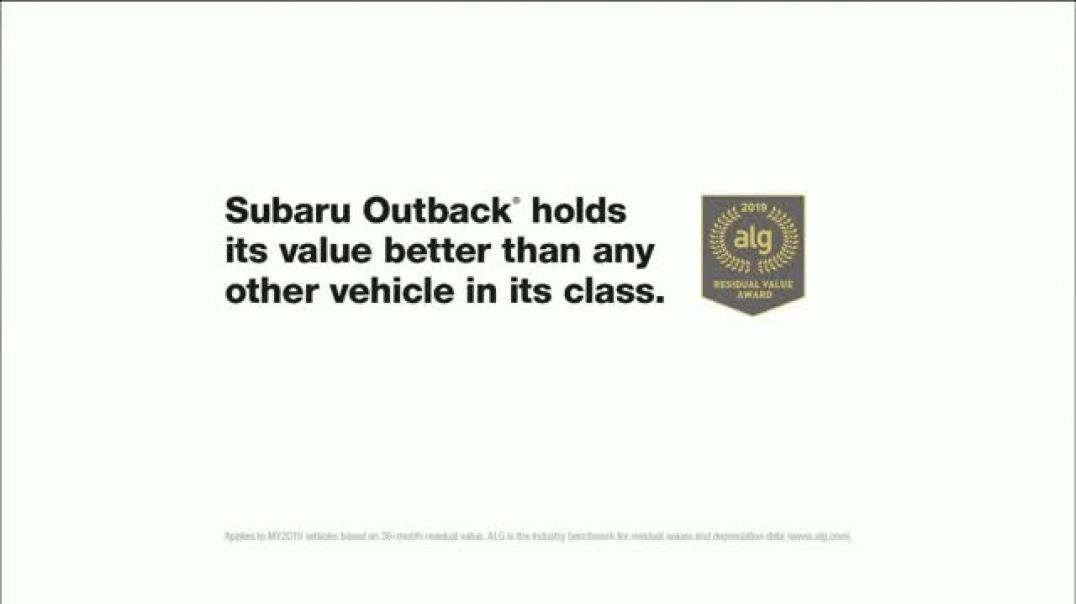 2019 Subaru Outback TV Commercials Always Smiling Commercial